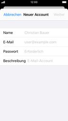 Apple iPhone SE - iOS 13 - E-Mail - Manuelle Konfiguration - Schritt 7