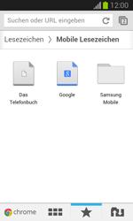 Samsung Galaxy Trend Lite - Internet und Datenroaming - Verwenden des Internets - Schritt 17