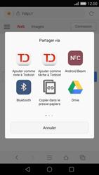 Huawei Ascend P8 - Internet et roaming de données - Navigation sur Internet - Étape 17