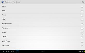 Samsung N8000 Galaxy Note 10-1 - Internet - Manuelle Konfiguration - Schritt 10