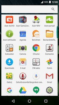 Acer Liquid Zest 4G Plus - E-mail - Handmatig instellen - Stap 4