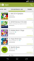 Sony Xperia M2 - Apps - Herunterladen - 11 / 20