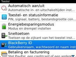BlackBerry 9320 Curve - BlackBerry activeren - BlackBerry ID activeren - Stap 5
