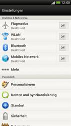 HTC One S - Netzwerk - Manuelle Netzwerkwahl - Schritt 4