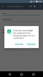Sony Xperia XA - E-mail - E-mail versturen - Stap 5
