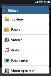 Samsung S5660 Galaxy Gio - e-mail - hoe te versturen - stap 9