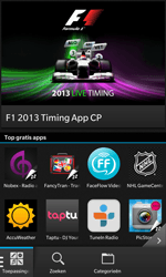 BlackBerry Z10 - Applicaties - Downloaden - Stap 9