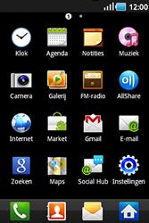 Samsung S5830 Galaxy Ace - internet - hoe te internetten - stap 2