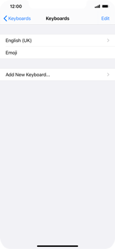 Apple iPhone 11 - iOS 14 - Getting started - How to add a keyboard language - Step 6