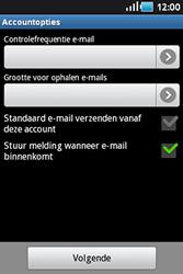 Samsung S5830 Galaxy Ace - E-mail - handmatig instellen - Stap 13