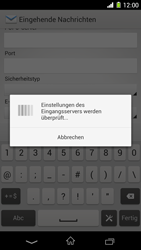 Sony Xperia Z1 - E-Mail - Konto einrichten - 1 / 1
