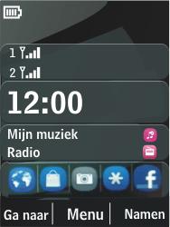 Nokia 206 Dual Sim - Internet - Hoe te internetten - Stap 1