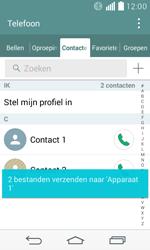 LG D390n F60 - Contactgegevens overzetten - delen via Bluetooth - Stap 11