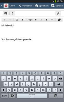 Samsung Galaxy Tab 3 8-0 LTE - E-Mail - E-Mail versenden - 0 / 0