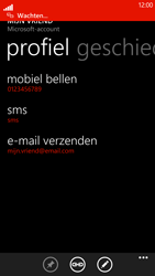 HTC Windows Phone 8X - contacten, foto