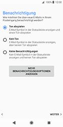 Sony Xperia XZ2 Compact - E-Mail - Konto einrichten (outlook) - 15 / 19