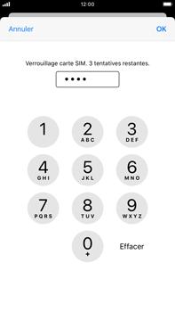 Apple iPhone 8 Plus - iOS 13 - Prise en main - Comment activer un code SIM - Étape 7