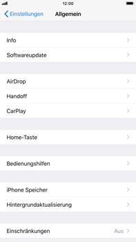 Apple iPhone 8 Plus - Apps - Automatisches Entfernen nicht genutzter Apps aktivieren - 4 / 6