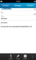 BlackBerry Z10 - E-mail - envoyer un e-mail - Étape 11
