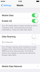 Apple iPhone 5s - iOS 8 - Network - Change networkmode - Step 5