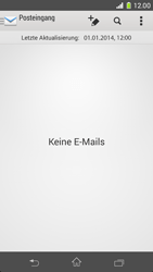 Sony Xperia Z1 Compact - E-Mail - E-Mail versenden - 0 / 0