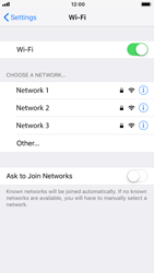 Apple iPhone 7 - iOS 12 - Wi-Fi - Connect to Wi-Fi network - Step 5