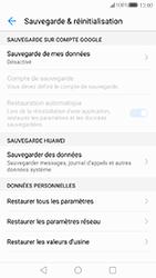 Huawei P10 - Appareil - Réinitialisation de la configuration d
