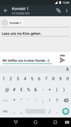Motorola Moto G 3rd Gen. (2015) - MMS - Erstellen und senden - Schritt 13