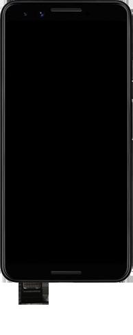 Google Pixel 3 - Premiers pas - Insérer la carte SIM - Étape 5