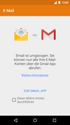 Motorola Moto G 3rd Gen. (2015) - E-Mail - Konto einrichten - Schritt 5