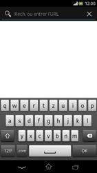 Sony Xperia V - Internet et roaming de données - Navigation sur Internet - Étape 5