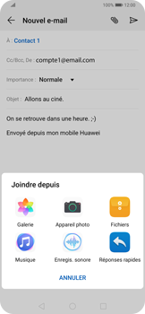 Huawei P Smart Z - E-mail - envoyer un e-mail - Étape 9