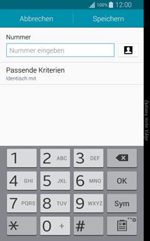 Samsung N915FY Galaxy Note Edge - Anrufe - Anrufe blockieren - Schritt 9
