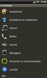 HTC S510b Rhyme - wifi - handmatig instellen - stap 4