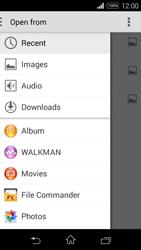 Sony D2203 Xperia E3 - E-mail - Sending emails - Step 11
