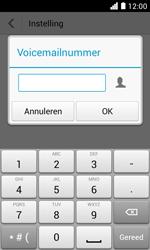 Huawei Ascend Y330 - Voicemail - Handmatig instellen - Stap 10