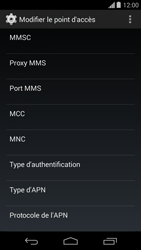 Motorola Moto G - MMS - configuration manuelle - Étape 13