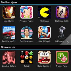 BlackBerry Q10 - Applications - Télécharger une application - Étape 7