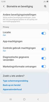 Samsung galaxy-j4-plus-dual-sim-sm-j415fn-android-pie - Beveiliging en ouderlijk toezicht - Hoe wijzig ik mijn SIM PIN-code - Stap 5
