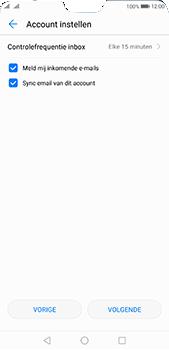 Huawei P20 Pro Dual-SIM (Model CLT-L29) - E-mail - Account instellen (POP3 met SMTP-verificatie) - Stap 18