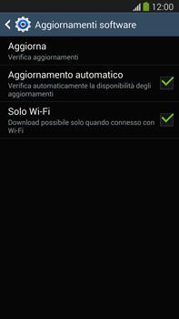 Samsung Galaxy Note III LTE - Software - Installazione degli aggiornamenti software - Fase 8