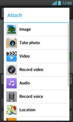 LG E460 Optimus L5 II - MMS - Sending pictures - Step 12