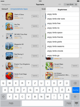 Apple iPad 4 mit iOS 7 - Apps - Herunterladen - Schritt 11