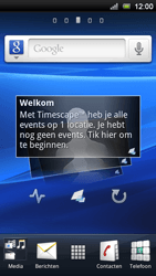 Sony Ericsson MT11i Xperia Neo V - Internet - buitenland - Stap 1