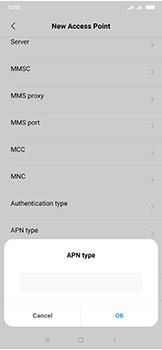 Xiaomi Mi Mix 3 5G - MMS - Manual configuration - Step 11