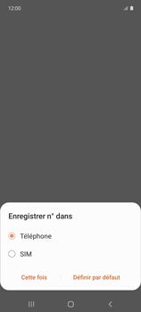 Samsung Galaxy A51 5G - Contact, Appels, SMS/MMS - Ajouter un contact - Étape 6