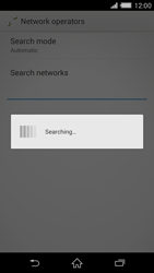 Sony Xperia Z2 - Network - Manual network selection - Step 7