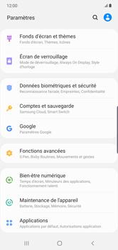 Samsung Galaxy Note10 Plus - Sécurité - modifier SIM PIN - Étape 4