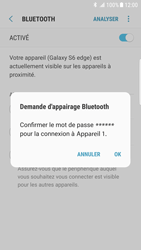 Samsung Galaxy S6 Edge - Android Nougat - Bluetooth - connexion Bluetooth - Étape 10