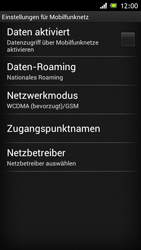 Sony Xperia J - Internet - Apn-Einstellungen - 6 / 25